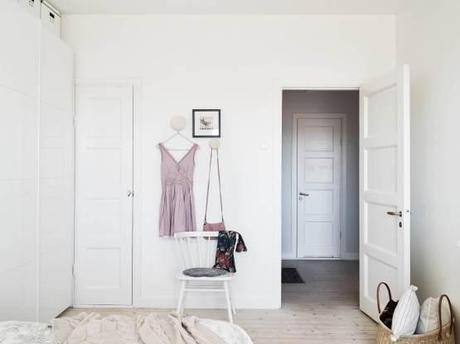 Un piso blanco y gris lleno de luz paperblog - Piso blanco y gris ...