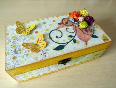 10 ideas baratas y caseras para el d a de la madre paperblog - Cajas de carton decoradas baratas ...