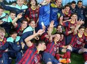 Cadete Barça suma nuevo título cantera Masía
