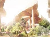 """Thomas Heatherwick muestra """"oasis enterrado"""" Dhabi"""