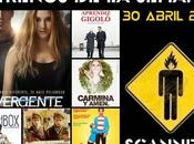 Estrenos Semana Abril 2014 Podcast Scanners