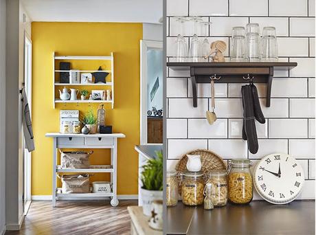 Una decoracion perfecta en blanco negro y amarillo paperblog for Decoracion casas rurales con encanto