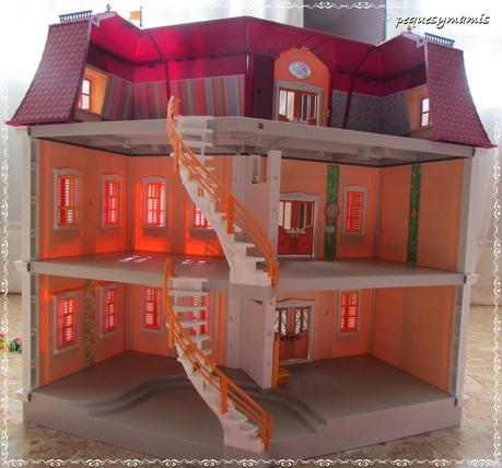 Mi gran casa de mu ecas de playmobil paperblog - Gran casa de munecas playmobil ...