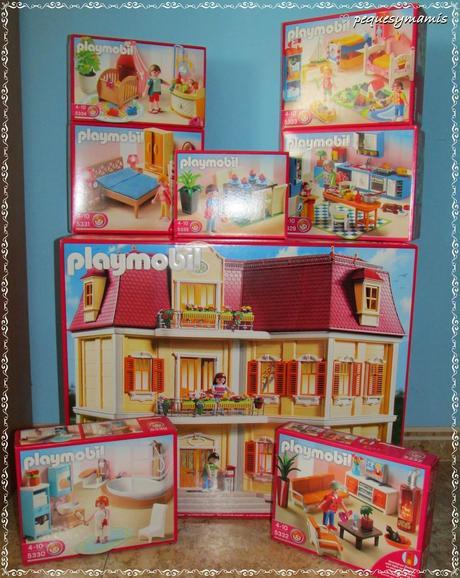 Mi gran casa de mu ecas de playmobil paperblog - Mi casa no es de munecas ...