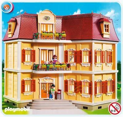 Mi gran casa de mu ecas de playmobil paperblog for La casa de playmobil