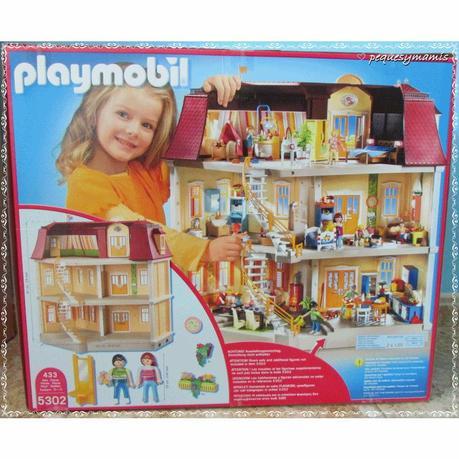 Mi gran casa de mu ecas de playmobil paperblog for Playmobil casa de lujo
