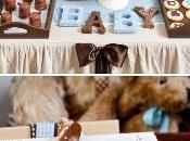 Lindas mesas decoradas para baby shower