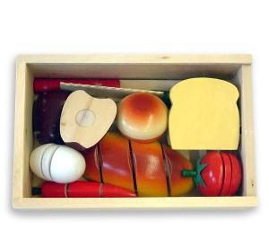 Caja para organizar los juguetes