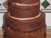 Devil's food cake bizcocho intenso chocolate.