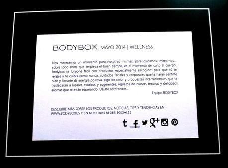 BODYBOX WELLNESS MAYO 2014.