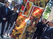 Exposición calle 'Barcelona 1714. batalla final', relacionada Salón Cómic Barcelona