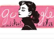 Doodle aniversario nacimiento Audrey Hepburn