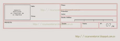 Cajet n a descargar para planos de arquitectura dwg for Pie de plano arquitectonico