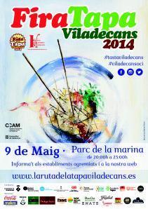 Cartel Fira Tapa 2014