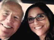 """Biden """"vicepresidenta"""" Julia Louis-Dreyfus salen marcha"""