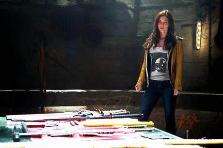 "NUEVA IMAGEN DE MEGAN FOX COMO APRIL O'NEIL EN ""NINJA TURTLES"""