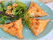 Empanadillas salmón cebolla caramelizada