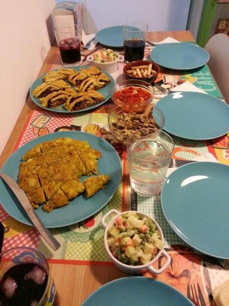 Cena vegana de picoteo informal recetas paperblog - Recetas merienda cena informal ...