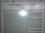 Edicto: Causa Beatificación Canonización Augusto Rafael Ramírez Monasterio