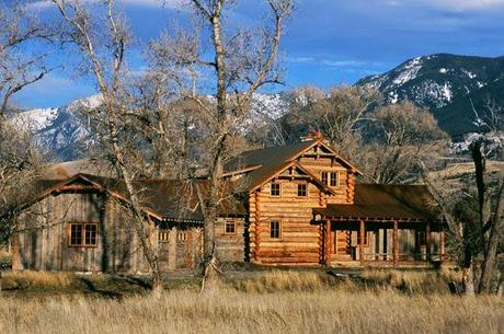 Rancho rustico en montana paperblog for Ranch rustico