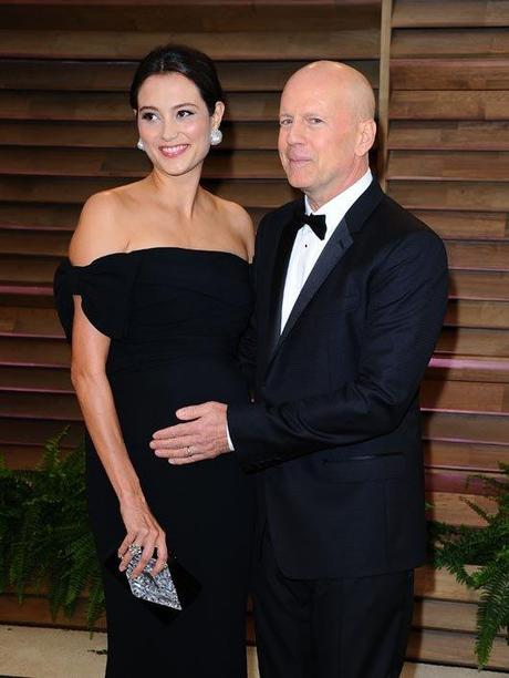 Bruce Willis Emma Heming-Willis Evelyn Penn