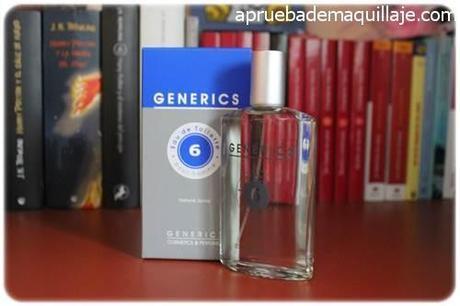 perfume hombre masculino para él 6 fresh aquatic de generics