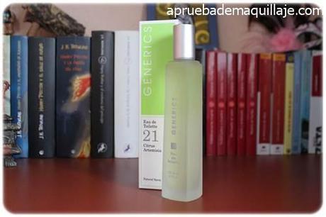 perfume femenino mujer para ella 21 citrus artemisa de generics