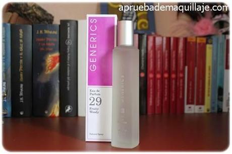 perfume femenino mujer para ella 29 fruity woody de generics