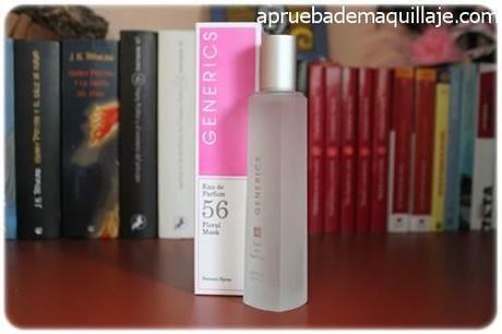 perfume femenino mujer para ella 56 floral musk de generics