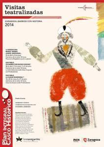 Visitas teatralizadas en el Casco Histórico