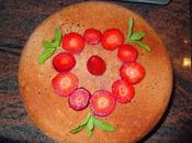 Bizcocho fresas
