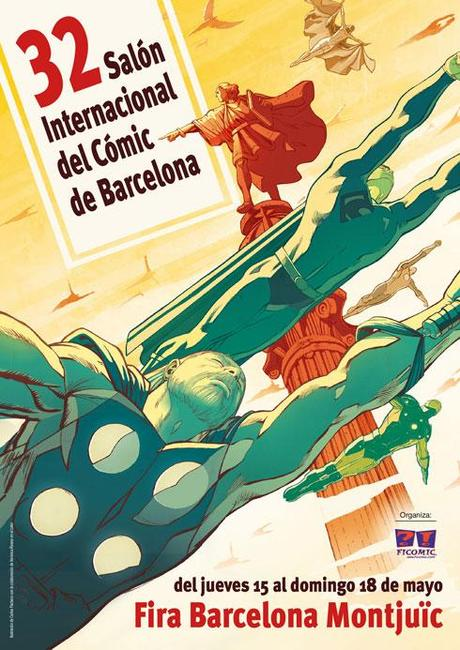 32 salon internacional del comic de barcelona