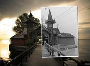 Combinación fotográficas antigüas superpuestas actuales. resultado espectacular.