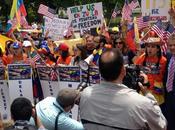 Venezolanos protestan U.S. contra Maduro