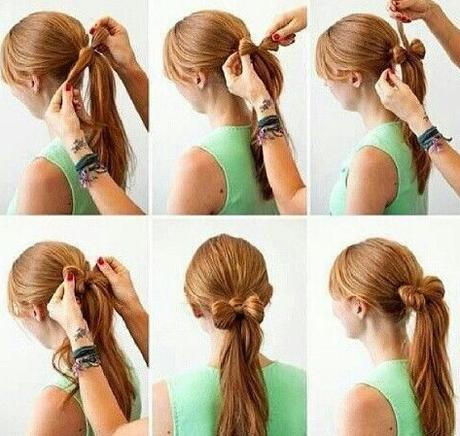 como hacer un peinado de moño - paperblog