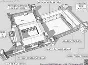 MAQUETAlcalá: Recreación virtual Alcázar Palacio Arzobispal Ciudad Alcalá Henares, hipótesis arquitectónica siglo