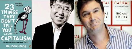 Thomas Piketty y Ha Joon Chang: dos enfoques de una misma raíz (2014)