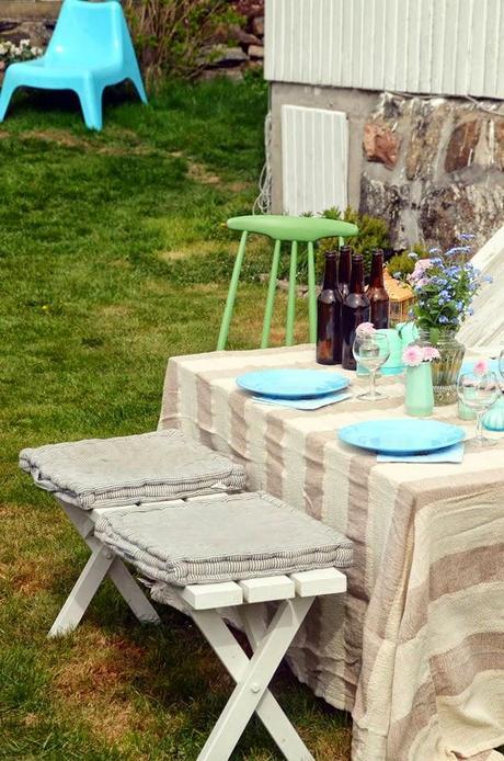 Como decorar una comida en vuestras terrazas o balcones for Decorar terrazas con encanto