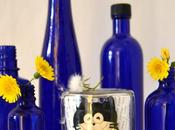 Botellas azules