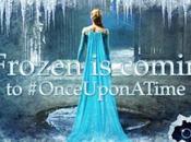 Póster promocional Cuarta Temporada 'Once Upon Time' 'Frozen' como protagonista.