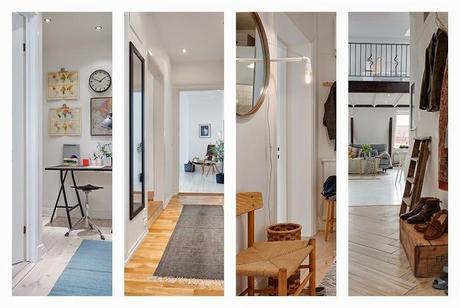 7 ideas para aprovechar pasillos y entradas paperblog - Decorar entradas y pasillos ...
