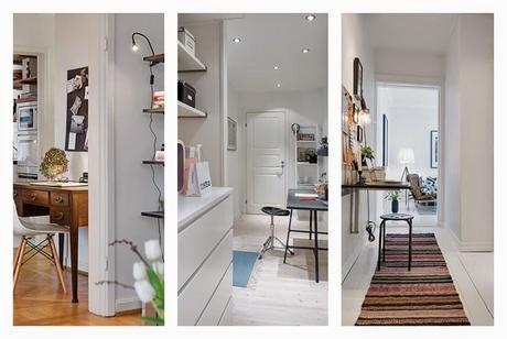 7 ideas para aprovechar pasillos y entradas paperblog - Entradas y pasillos ...