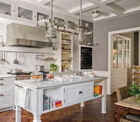 Cocinas con isla o abiertas al sal n paperblog for Cocinas con isla y salon