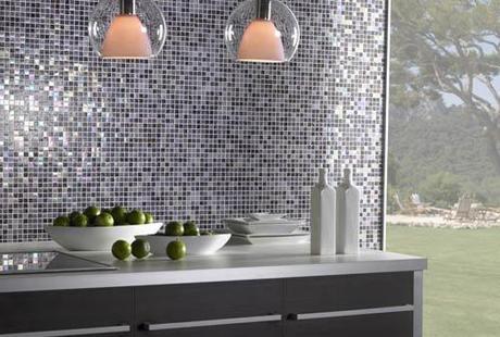 Cocinas modernas decoradas con azulejos paperblog - Azulejos para cocina modernos ...