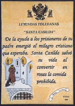 Casilda de Toledo, Santa