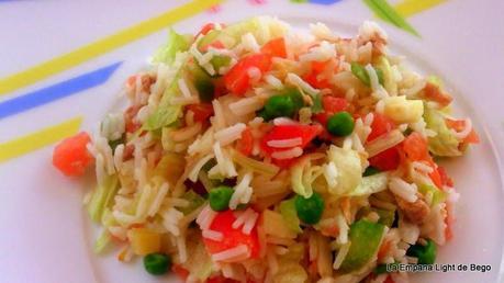 Ensalada completa de arroz basmati paperblog - Ensalada de arroz light ...