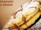 Panqueques banana, volvemos reto dulce laura real