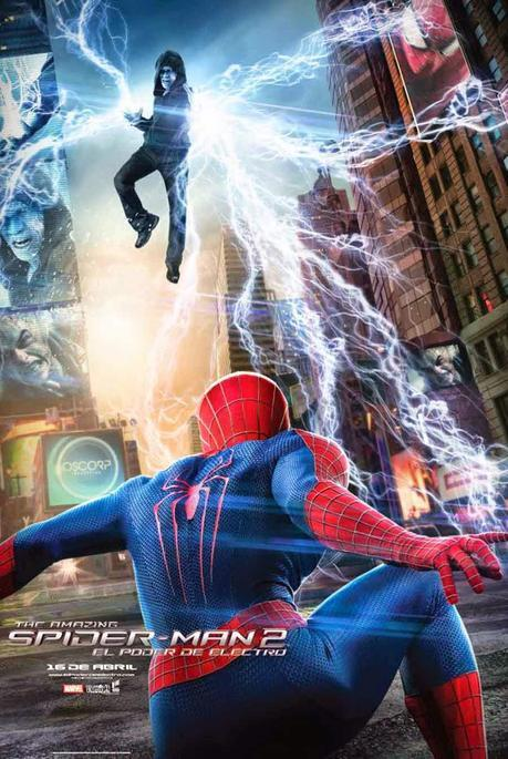 Spider-Man, zorro con gafas, electro, spiderman 2