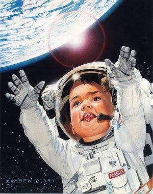 Viajar al espacio envejece