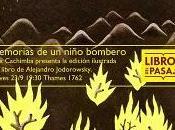 Memorias niño bombero: presentacion libro